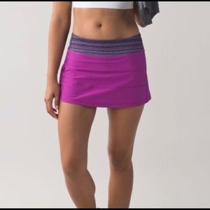 🍋 Lululemon Pace Rival Skirt II- Size 6 Tall